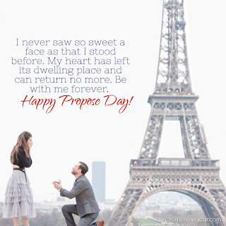 Happy propose day Quotes Wishes