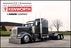 Cad and Lisa Berry's 1995 Kenworth W900