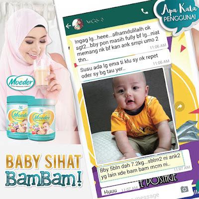 Moeder Genius Pregnancy Formula Untuk Ibu Menyusu