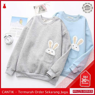 Jual RRJ170O106 Outerwear Stuffy Sweater Wanita Mo Terbaru Trendy BMGShop