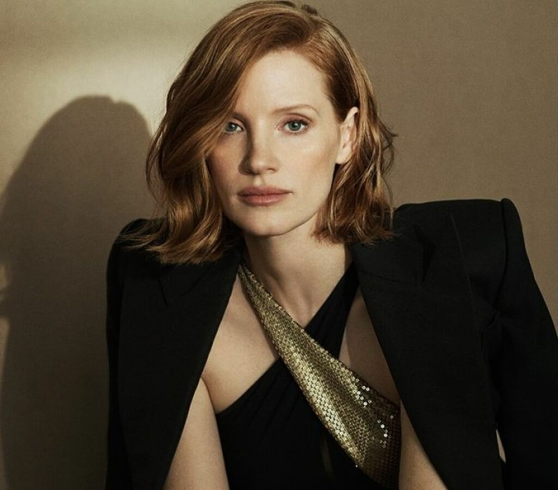 Jessica Chastain fronts Ralph Lauren Woman Intense fragrance campaign