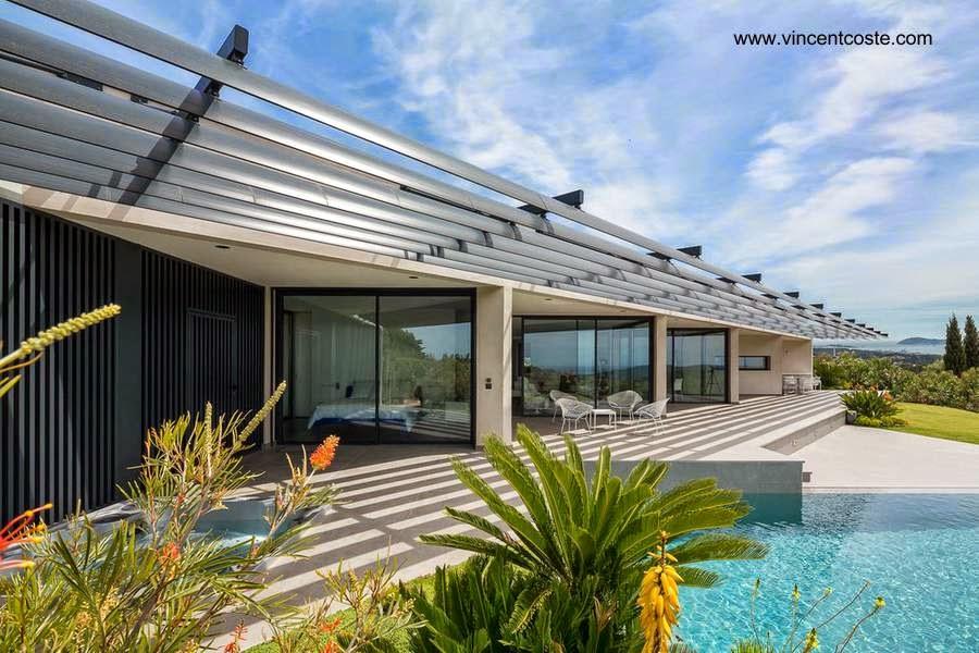 Casa residencial contemporánea con piscina en Toulon Francia