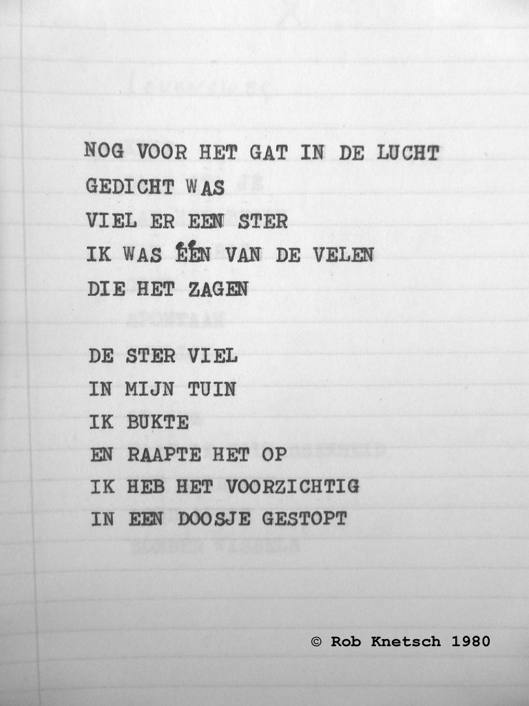 Of Turmoil And Quest Gedicht Mijn Ster Door Rob Knetsch