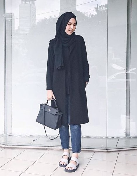 40+ Model Fashion Hijab Casual Modern Terbaru 2018 Simpel u0026 Modis