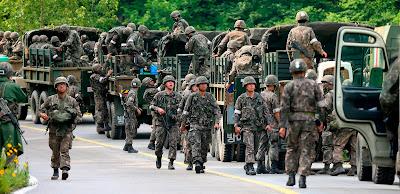 ارسال مئات الجنود من كوريا الشمالية الي جنوب السودان