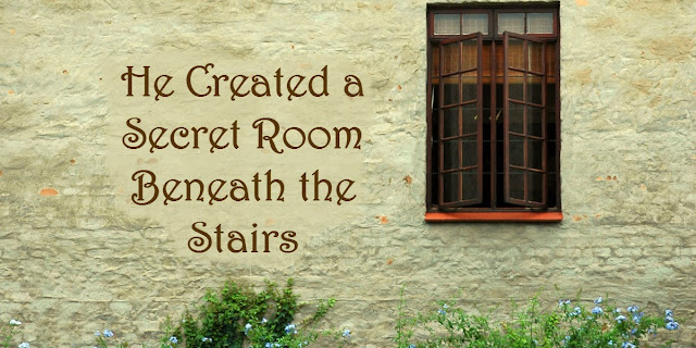 My grandchildren have a secret room in their house and Psalm 32 says you and I have a secret room too. This 1-minute devotion explains. #BibleLoveNotes #Bible