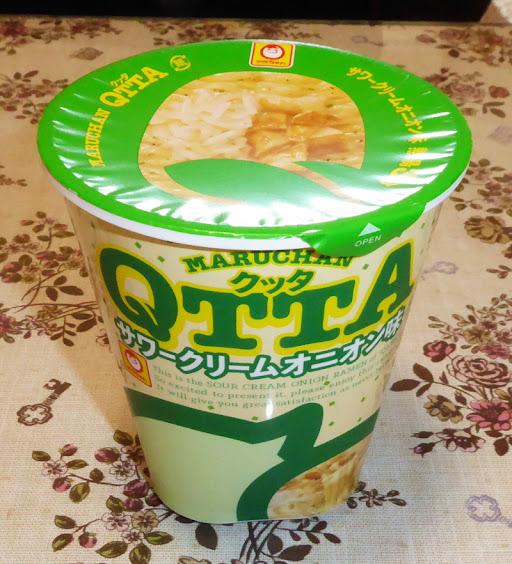 【マルちゃん(東洋水産)】QTTA(クッタ)サワークリームオニオン
