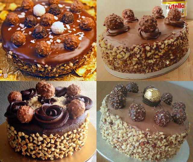 ألذ وأشهى وأسهل طريقة لعمل كيكة فيريرو روشيه مثل الكيكة الجهازة في المنزل!