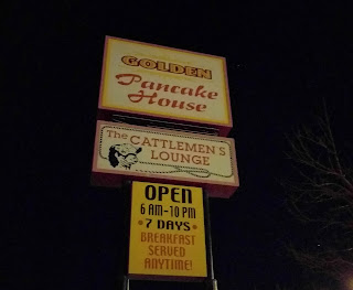 Cattlemen's Lounge sign in Dodge City