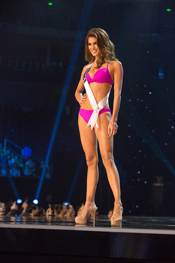 Iris Mittenaere, Miss France Competing In Miss Universe 2017 In The Swimwear Competition