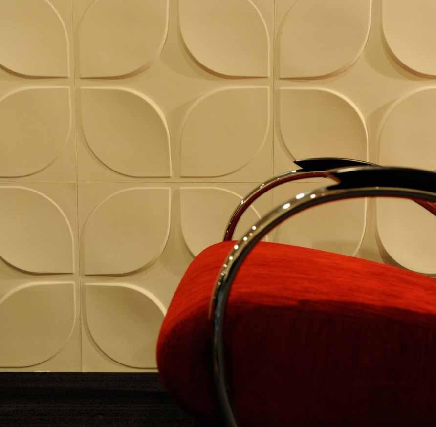 Desain Panel Dinding Unik Untuk Ruang Interior Minimalis