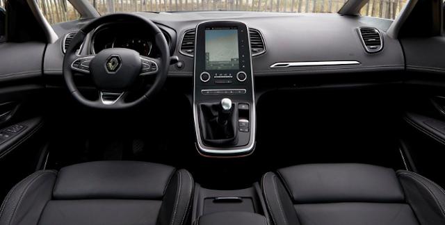 2018 Renault Scenic Interior