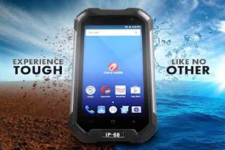 Cherry Mobile Defender - Dust and Waterproof with Helio P10 Processor