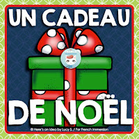 FREE French Christmas Gift: banner and pencil toppers!