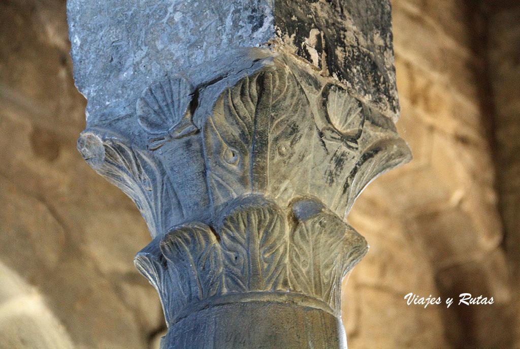 Detalle de Santa Cristina de Lena