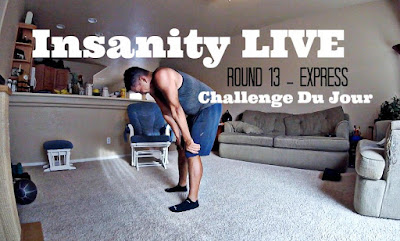 Insanity LIVE Round 13 Express Class - Master Series on Beachbody on Demand - Challenge Du Jour Insanity LIVE Workouts
