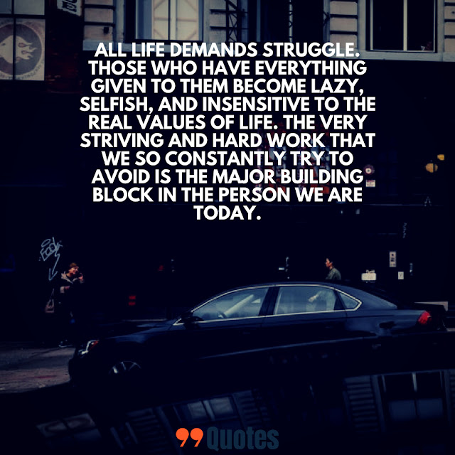 life struggle quotes