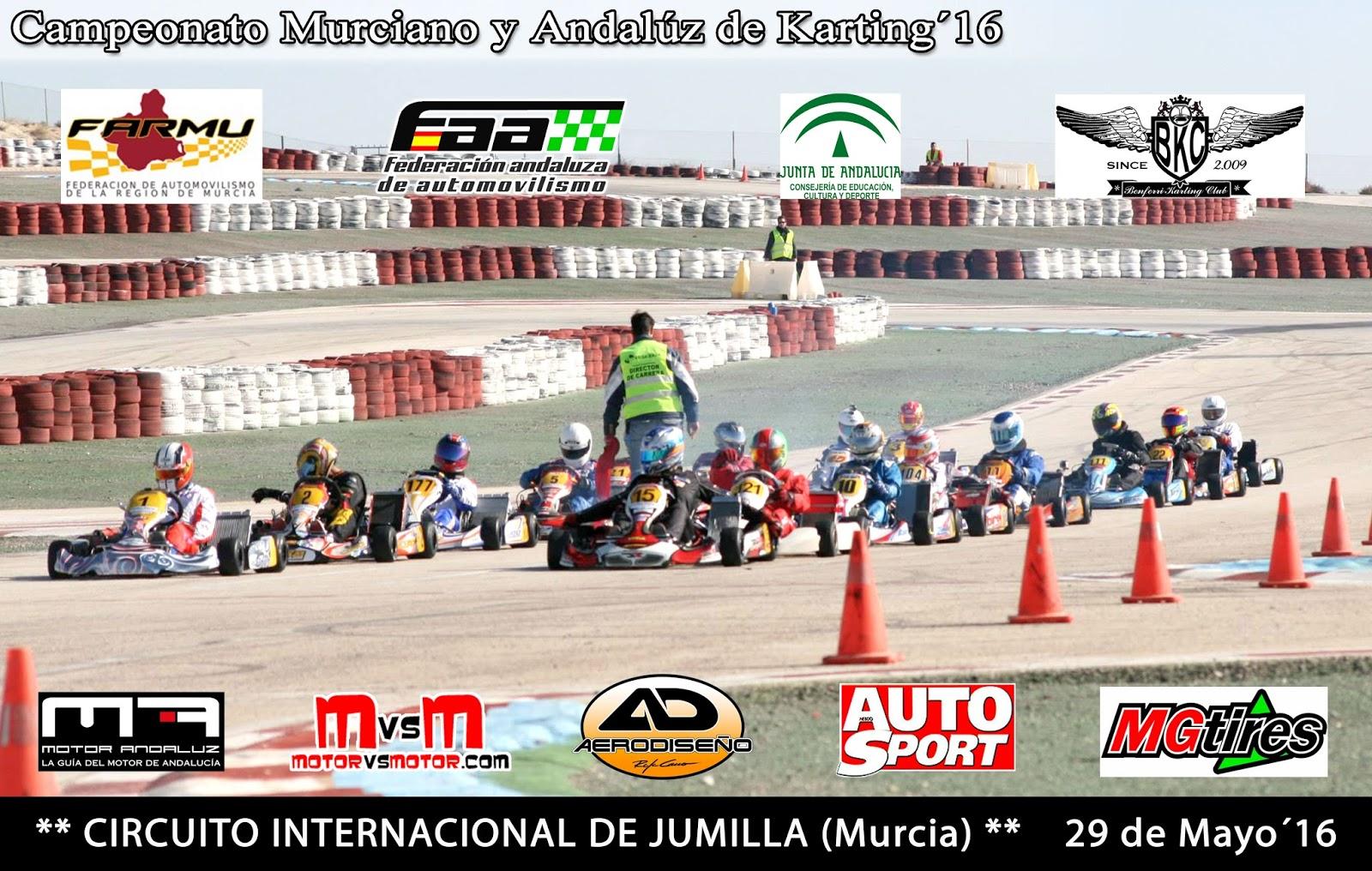 Circuito Jumilla : Benferri karting club: avance campeonato murciano y andaluz de karting