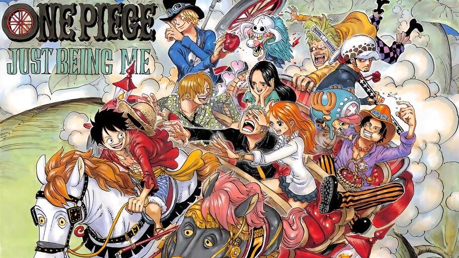 One Piece, Straw Hat Pirates, 4K, #6.151
