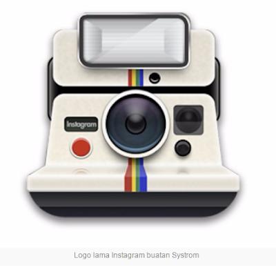 logo instagram buatan systrom