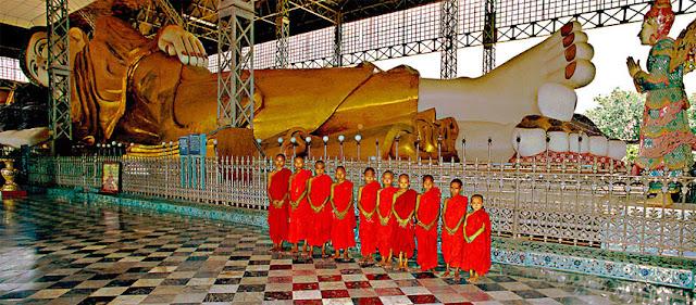 Buddha Statue in Myanmar