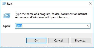 melihat mac address Menggunakan Command Prompt