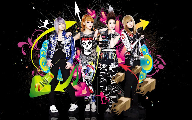Gambar Wallpaper 2NE1 1280x800