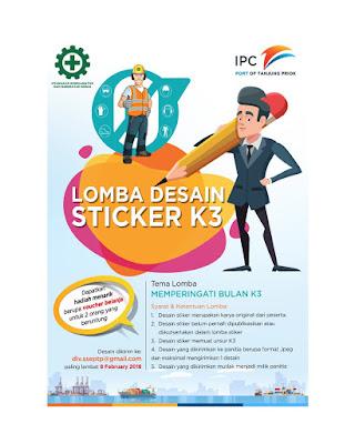 Lomba Desain Sticker K3 Nasional 2018 dari PT. PTP - GRATIS