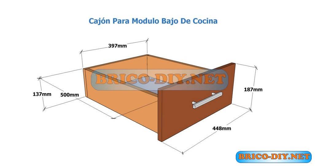 Muebles De Cocina Bajo Mesada Hazlo T Mismo Brico Muebles