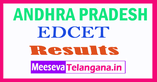 AP EDCET Results 2018  Download  EDCET Rank Card