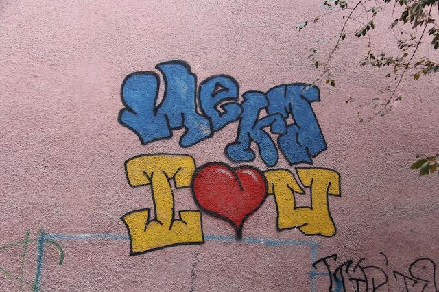 Kirghizistan, Och, graffiti, © L. Gigout, 2012