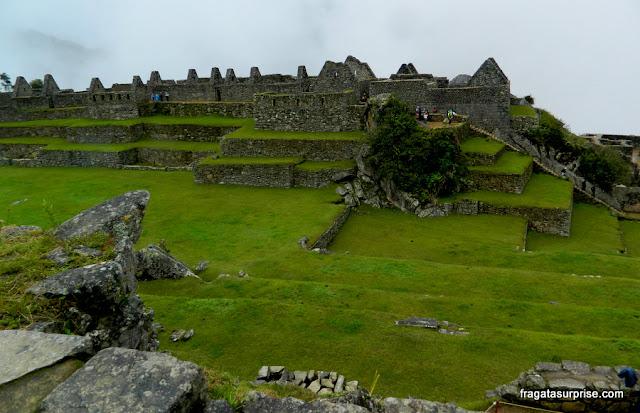 Praça Principal de Machu Picchu