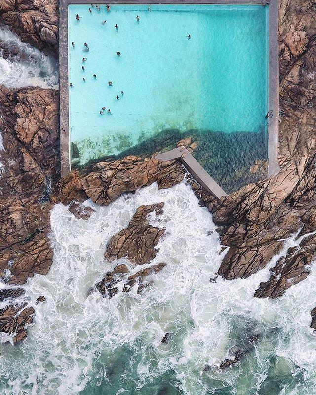 Piscina das Marés de Álvaro Siza en Leça da Palmeira by @jacktheartist