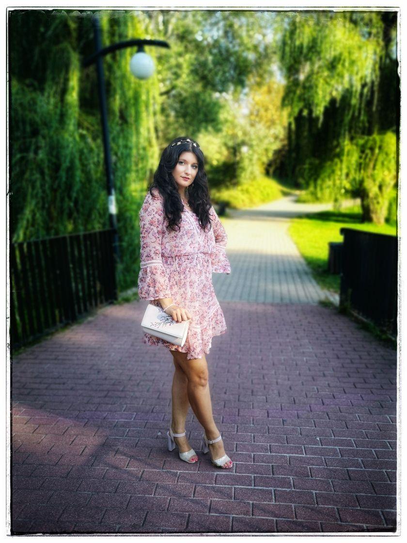 Sukienka Orsay, fashionable trips, moda, fashion, sukienki różowe,
