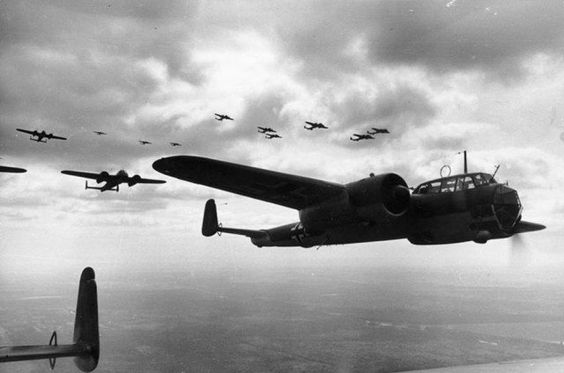 21 June 1940 worldwartwo.filminspector.com Dornier Do 17Z Luftwaffe bombers