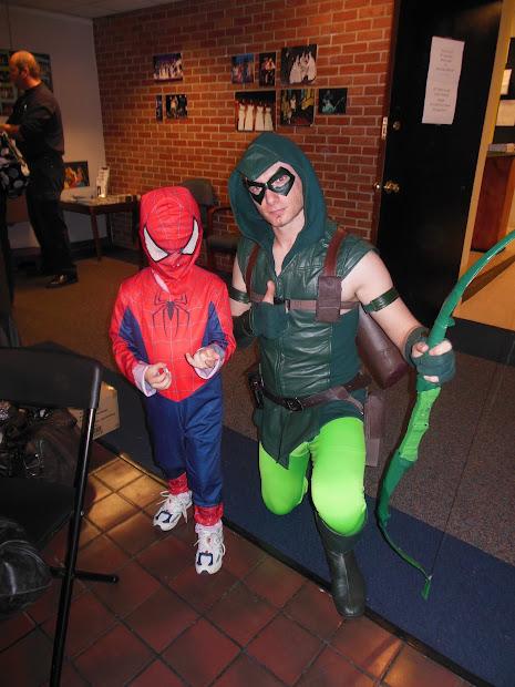Green Arrow Halloween Costume Kids