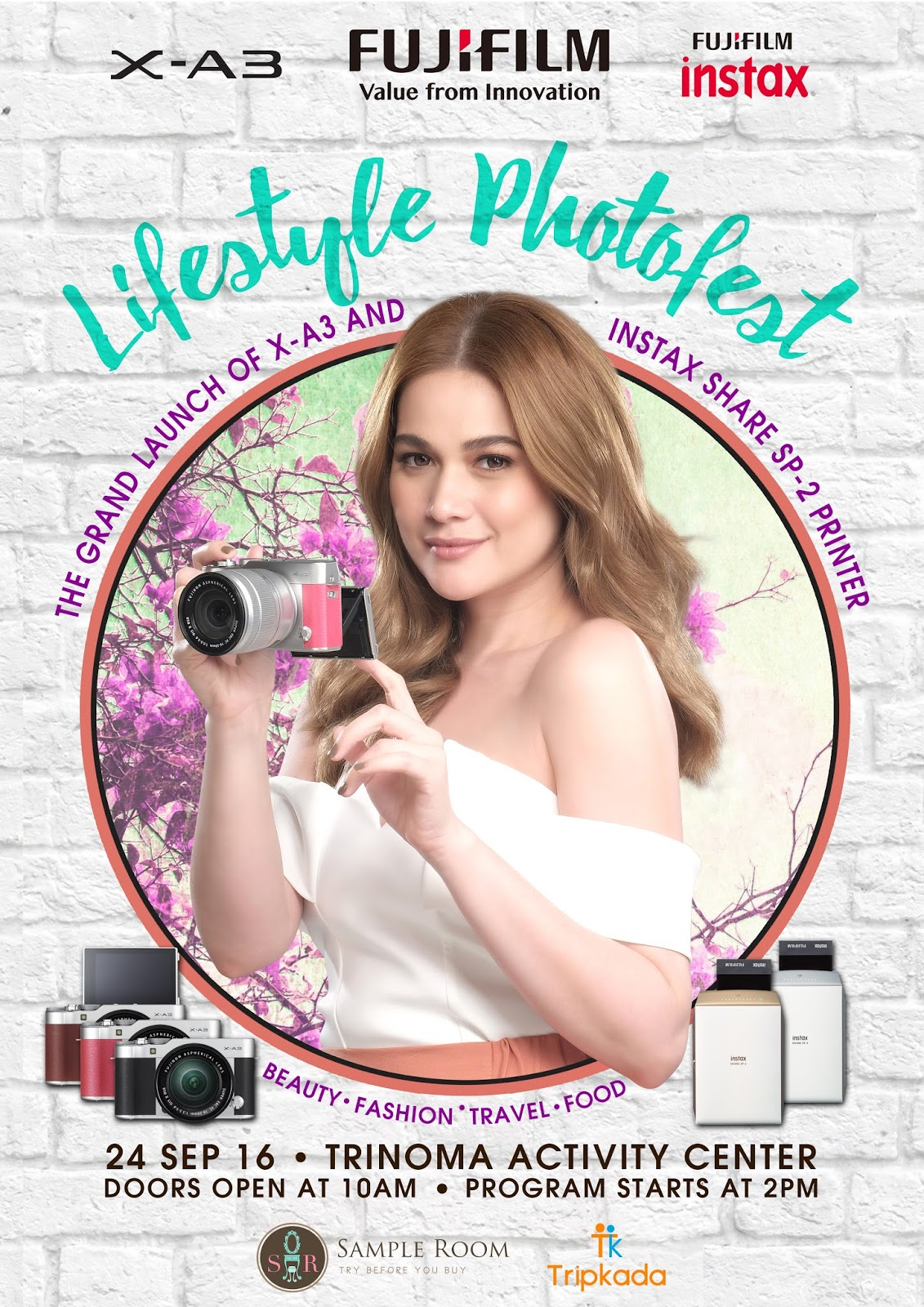 Bea alonzo and top social media influencers launch fujifilms new aside from seeing bea and mingling with popular bloggers and online personalities camera enthusiasts and fujifilm fans can avail of great deals with its stopboris Gallery