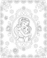 הנסיכה אלנה מאבלור לצביעה