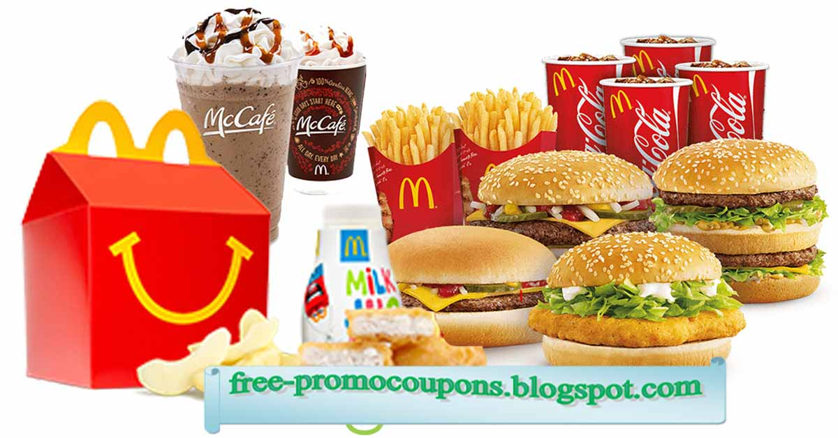 Coupons mcdonalds