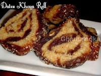 Dates Khoya Roll