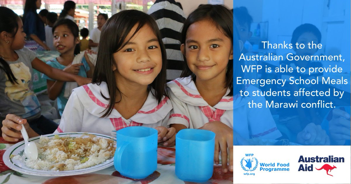 Manila Life Australia And Wfp Provide School Meals To 50 000 Marawi Children