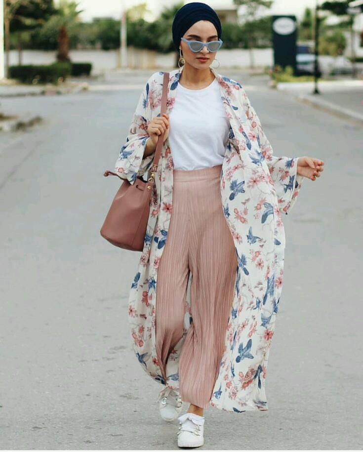 8b2514421 أزياء ربيع وصيف للمحجبات في عالم الموضة 2019 | Easy Ideas أفكار سهلة