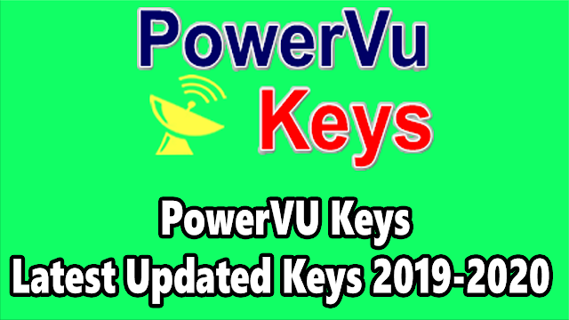 PowerVU Keys Latest Updated Keys 2019-2020