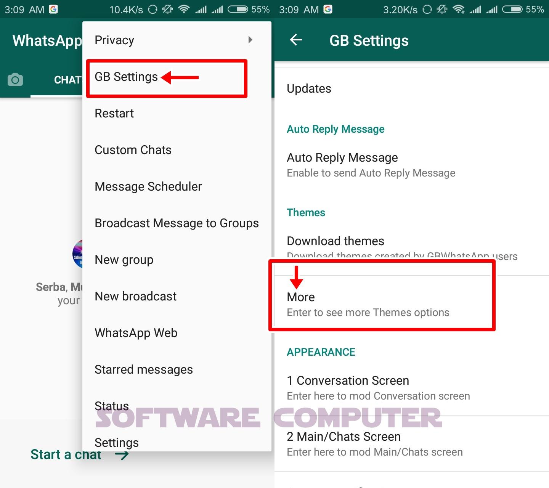 Cara membuat wa seperti iphone,begini cara mengubah tema whatsapp