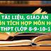 Kho tài liệu, giáo án liên môn tích môn Hóa Học lớp 6-7-8-9-10-11-12 cấp THCS-THPT
