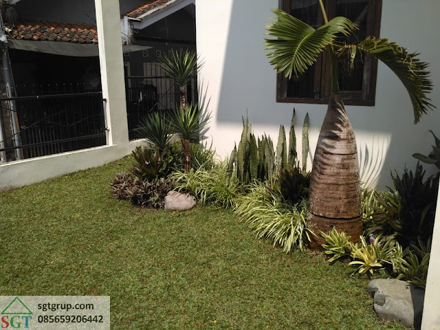 Jasa Pembuatan Taman Ibu Nita di Bandung