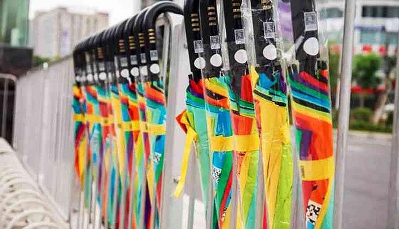 Прокат зонтиков Sharing E Umbrella | Стартап Ньюс