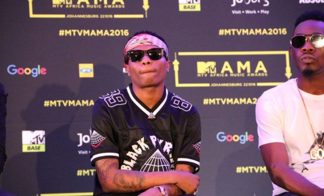 MTV Base Humiliates Wizkid - Strips Him Of His Best African Act Award - See Reasons