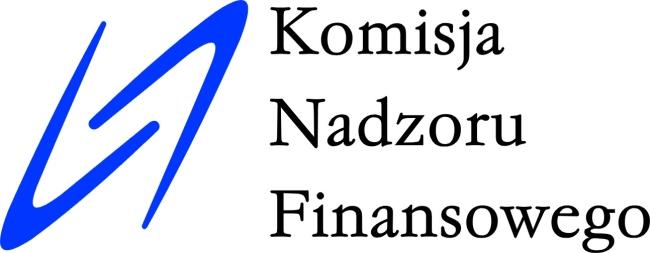 Logo Komisji Nadzoru Finansowego