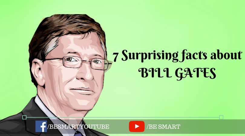 7 Surprising facts about bill gates